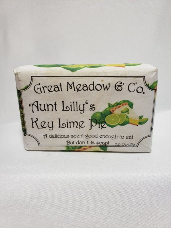 Aunt Lillys Key Lime Pie Soap