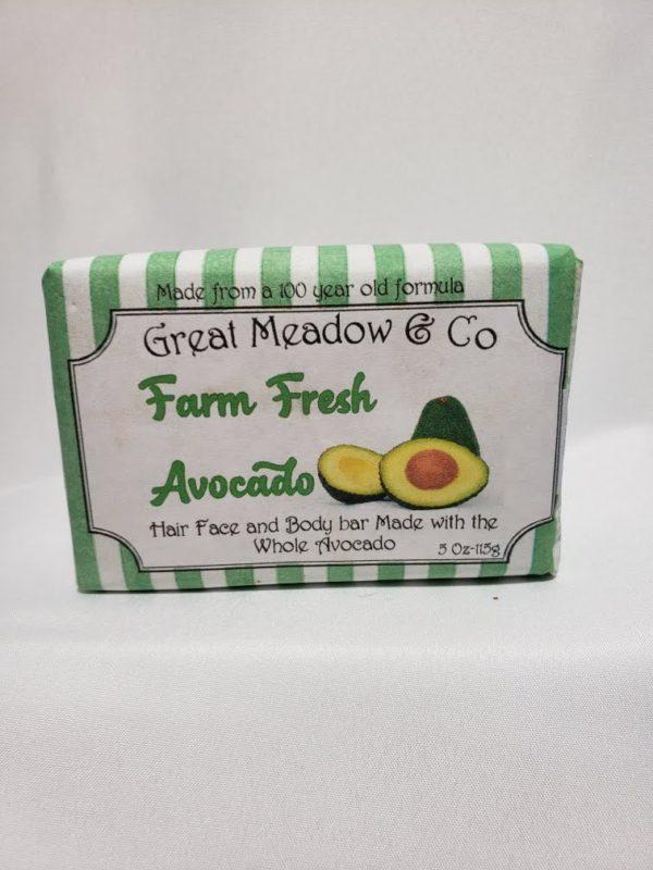 Farm Fresh Avocado Soap