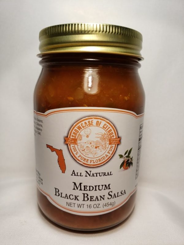Medium Black Bean Salsa