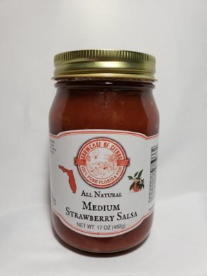Medium Strawberry Salsa