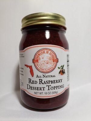 Red Raspberry Dessert Topping