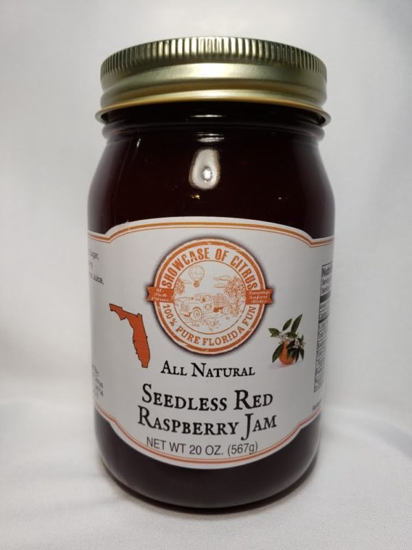 Seedless Red Raspberry Jam