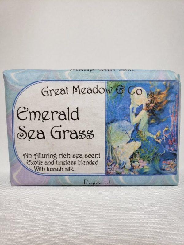 Emerald Sea Grass Soap